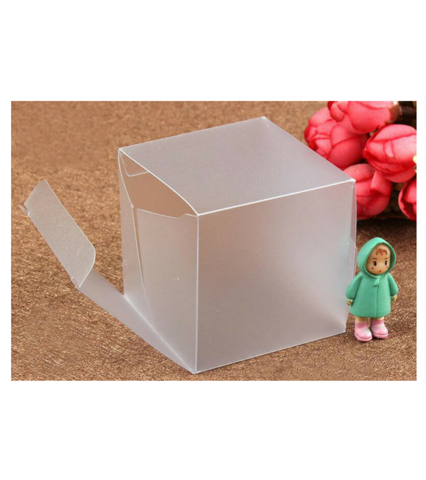 Customized Frosted PVC Gift Boxes - Custom Packaging