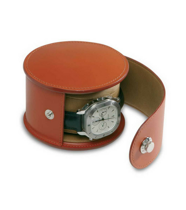 Round PU Watch Box