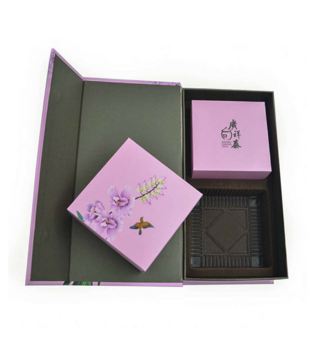 Custom Individual Mooncake Box with PET Tray