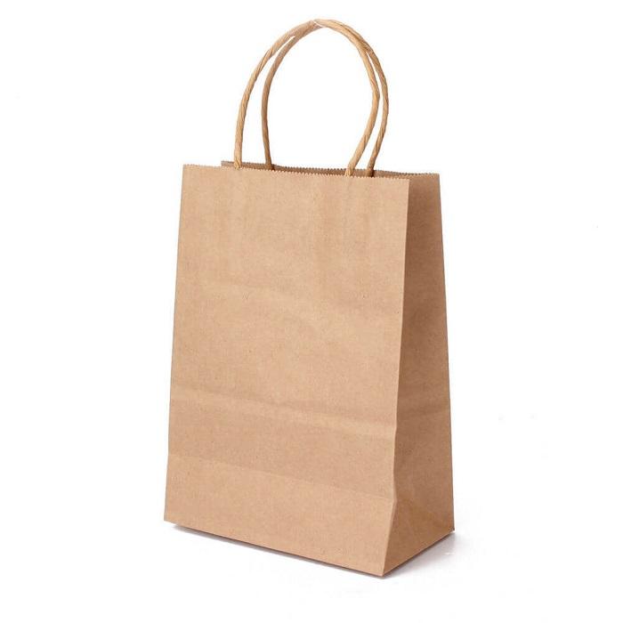 Custom Kraft Paper Carrier Bag