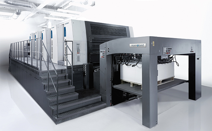 Manroland 900 For the High Graphics Printing
